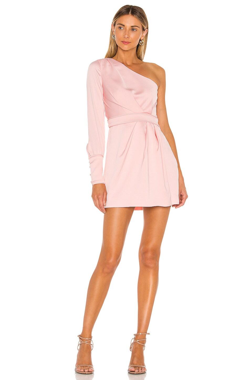 NBD Elijah Mini Dress in Ballet Pink