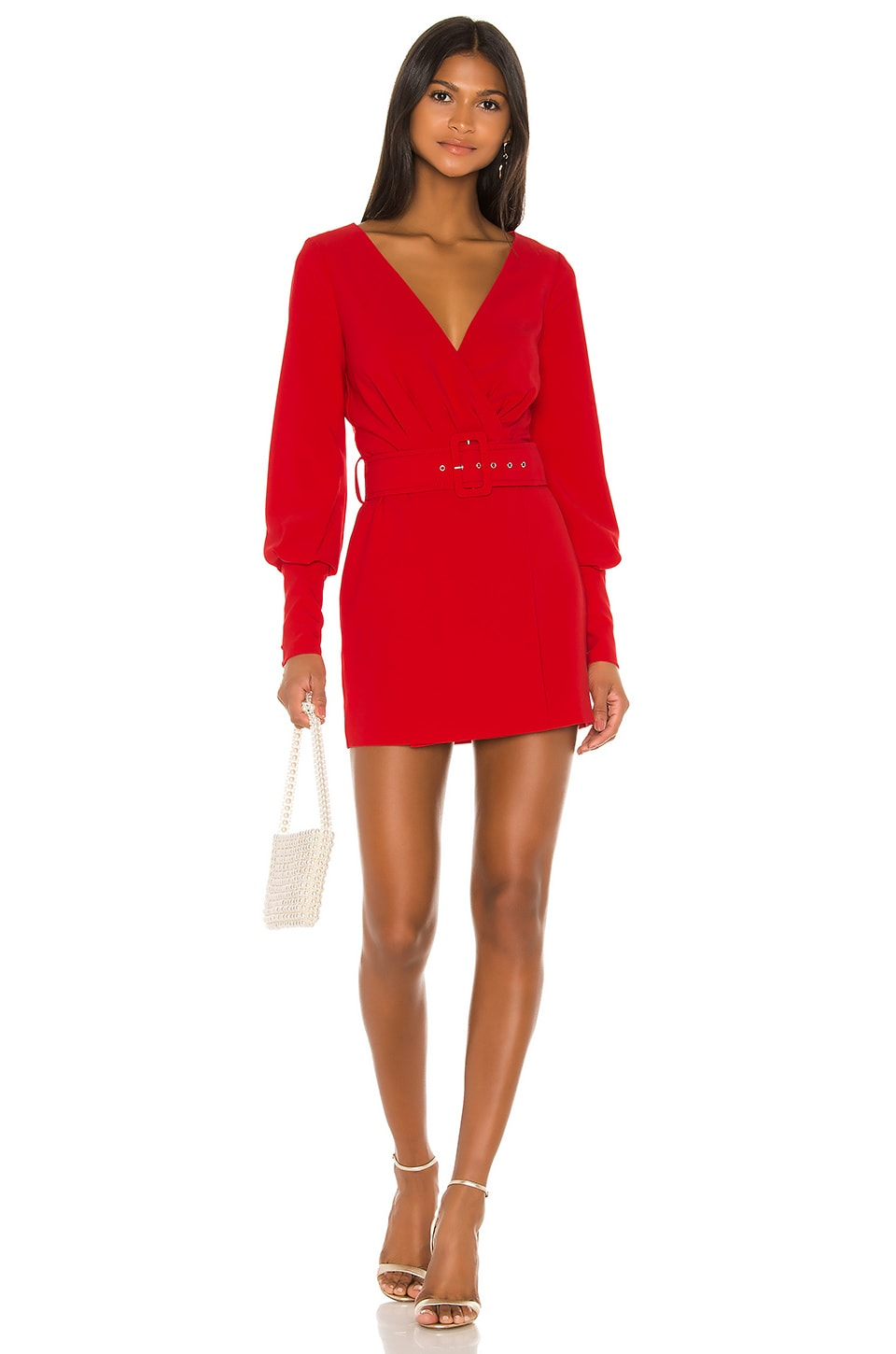 NBD Reagan Mini Dress in Red