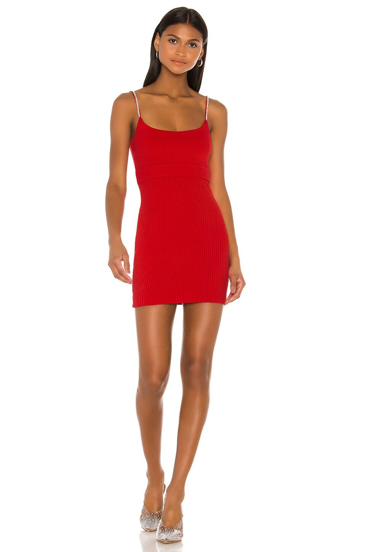 NBD Leon Mini Dress in Red