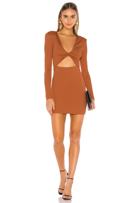 NBD Alexander Mini Dress in Copper