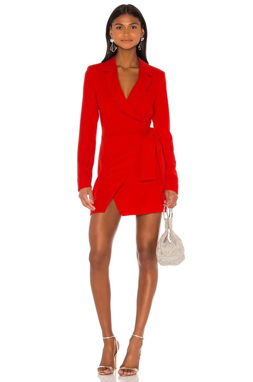 NBD Martina Blazer Dress in Red