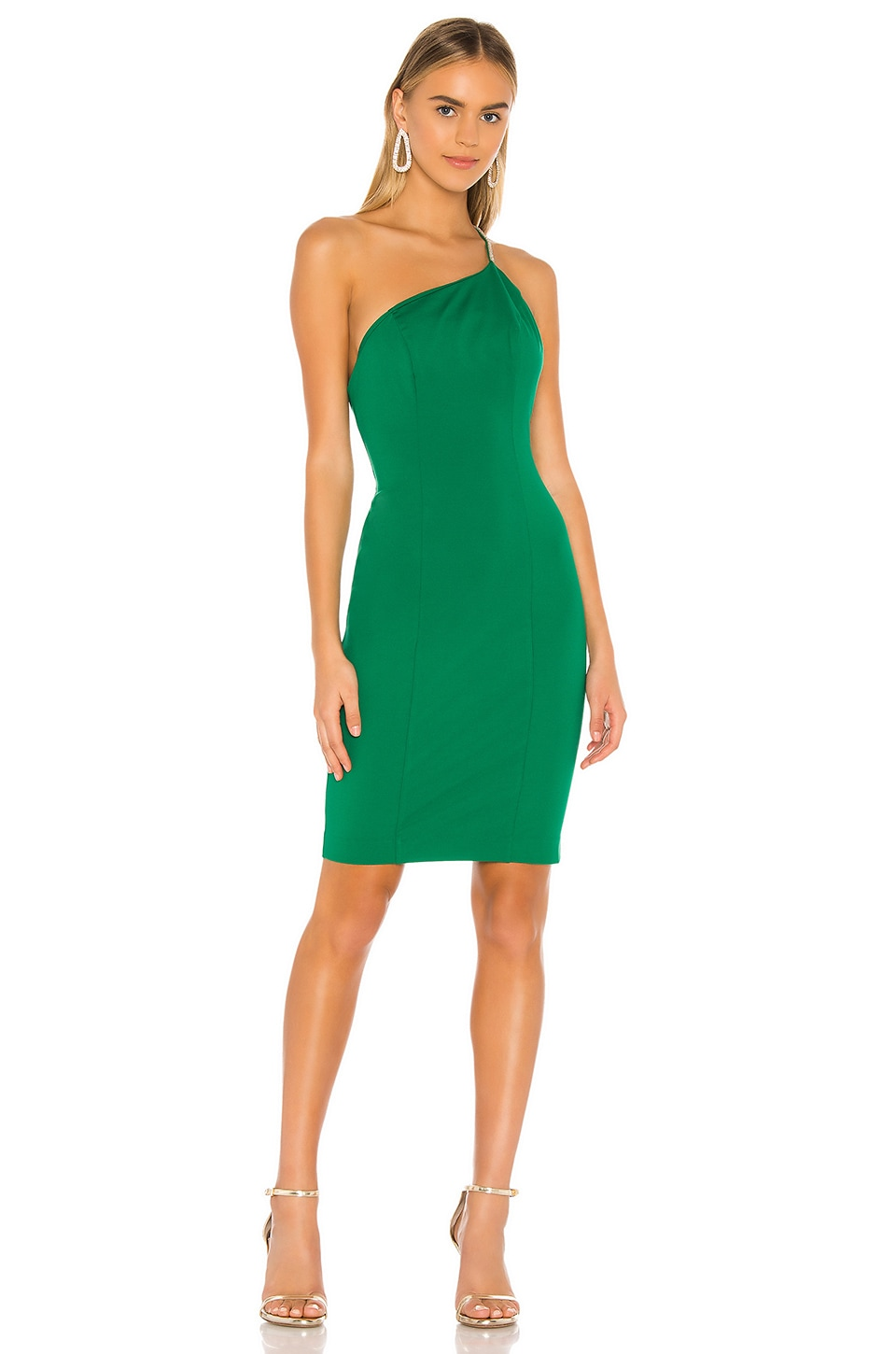 NBD Ciara Mini Dress in Kelly Green