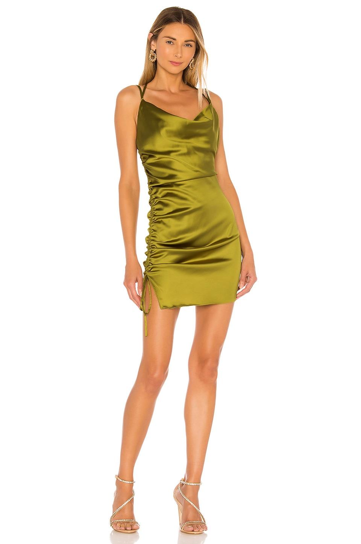 NBD Zariana Mini Dress in Edamame Green