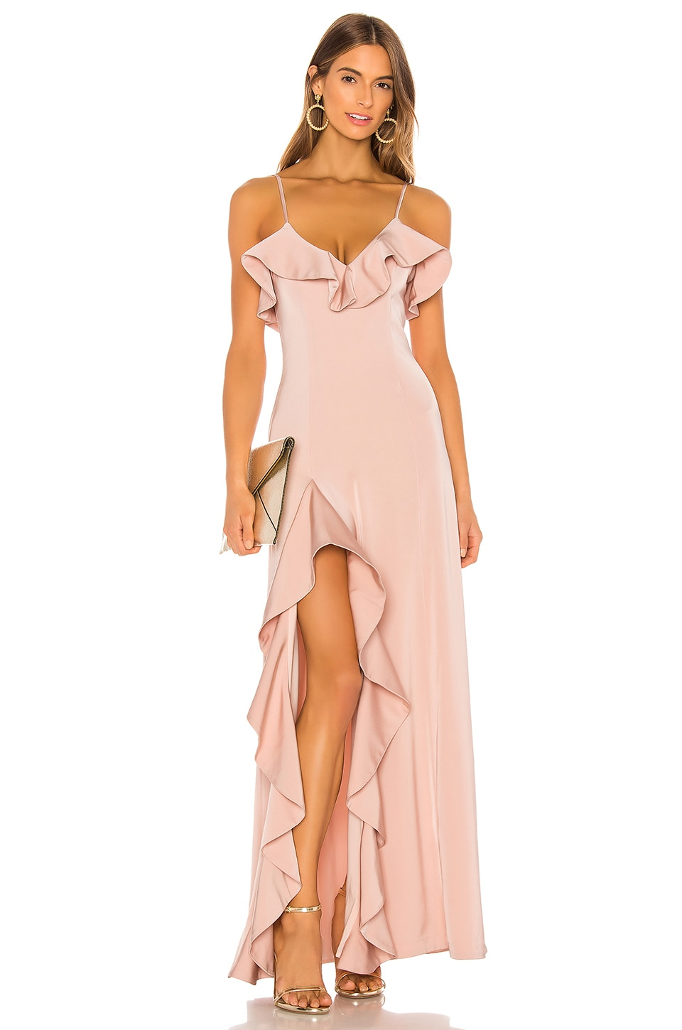 NBD Francine Gown in Blush