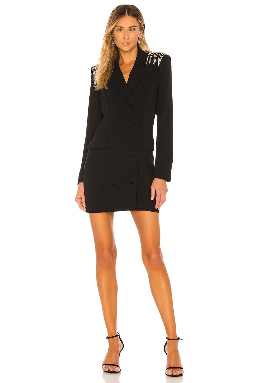 NBD Neena Blazer Dress in Black