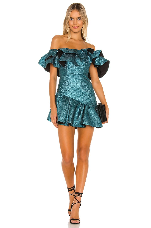 NBD Tigerlily Mini Dress in Aquatic Blue