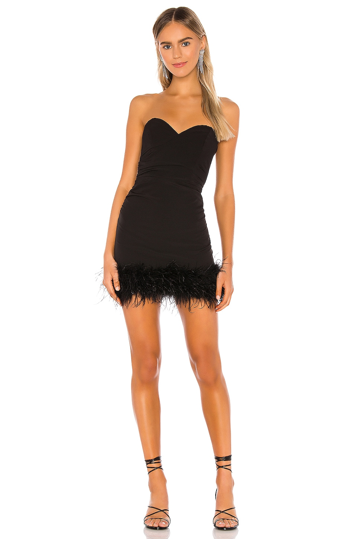 NBD Leena Mini Dress in Black