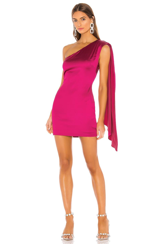 NBD Hanna Mini Dress in Fuchsia