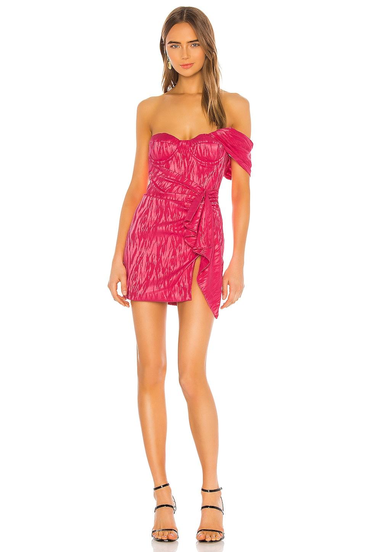 NBD Jorja Mini Dress in Fuchsia