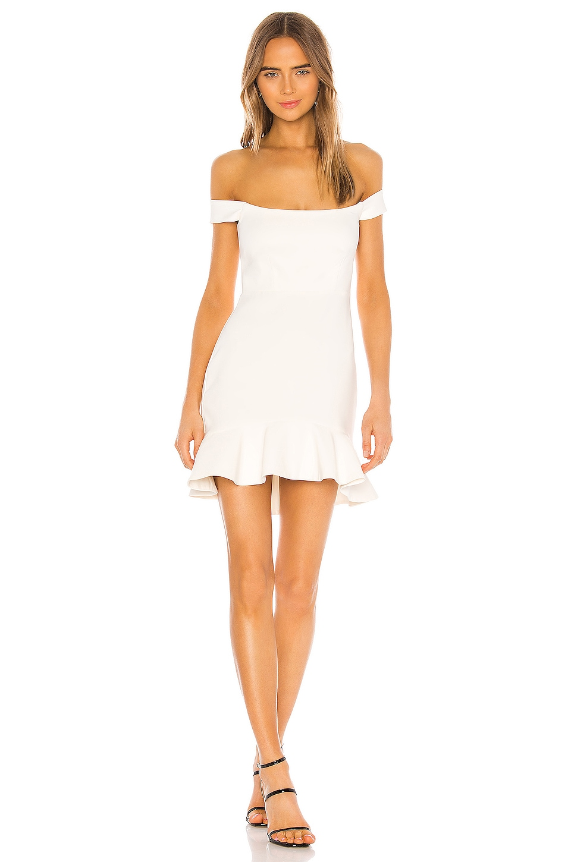 NBD Augustine Mini Dress in White