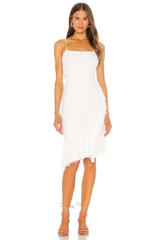 NBD Greer Dress in White