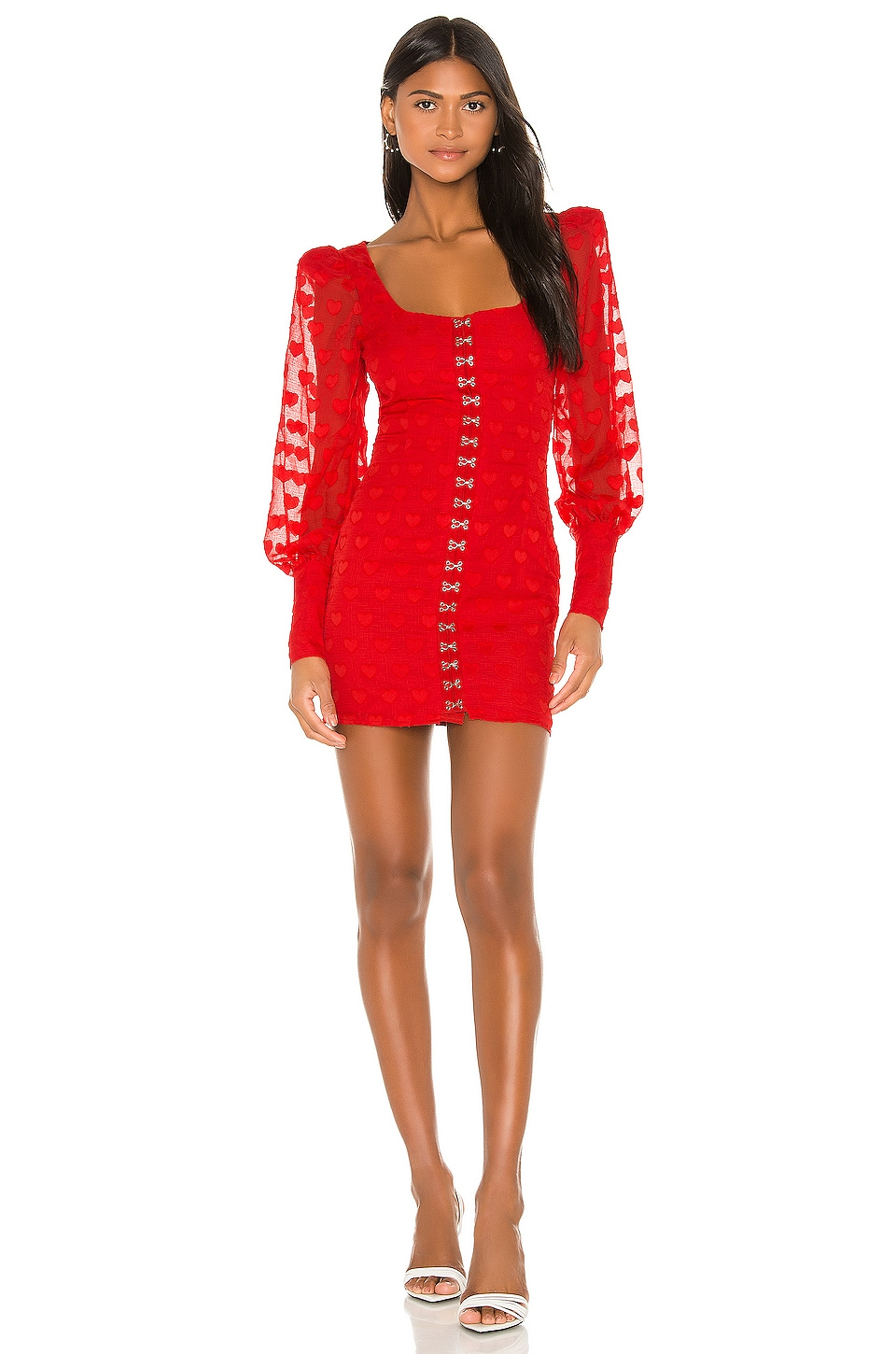 NBD Nayley Mini Dress in Red