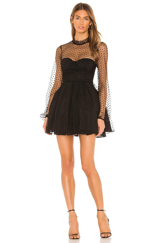 NBD Ellanore Mini Dress in Black