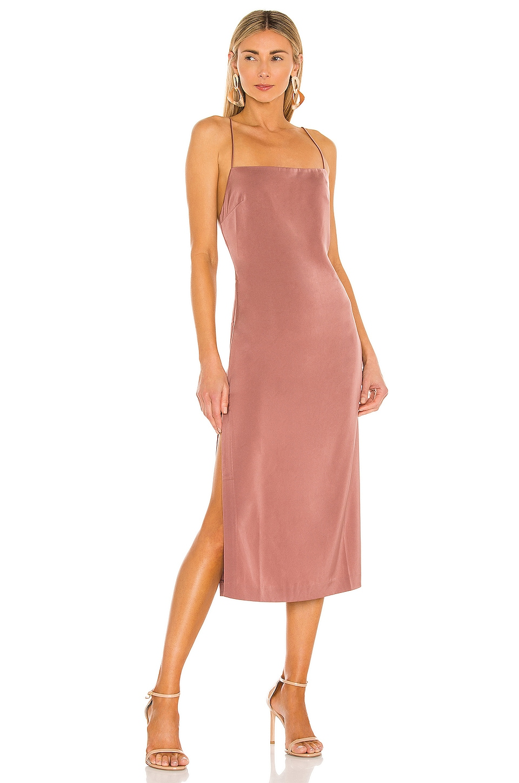 NBD Malia Midi Dress in Mauve