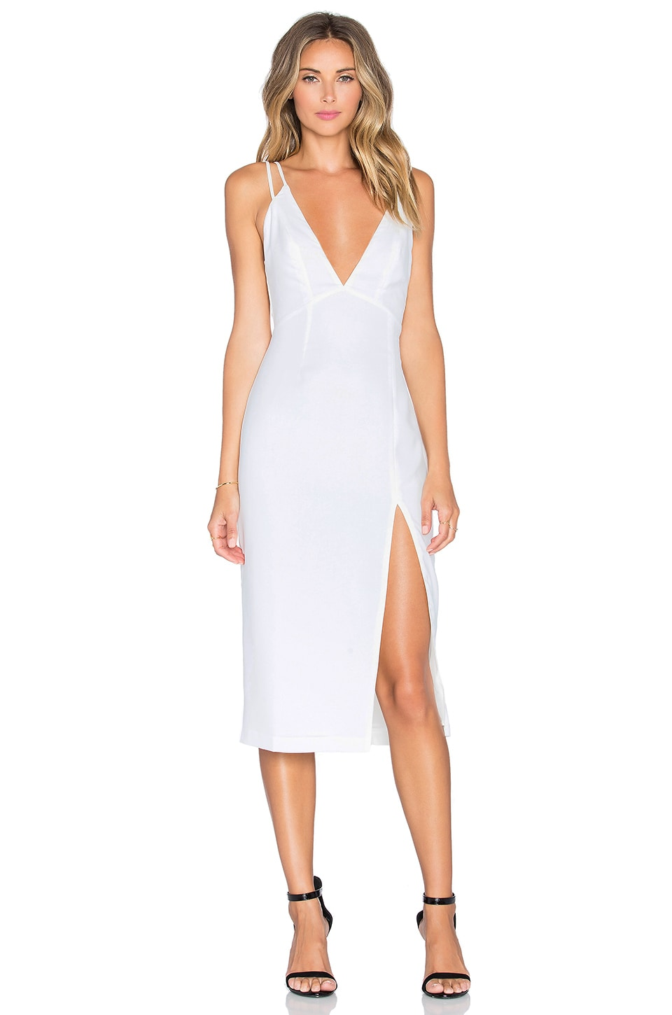 NBD x REVOLVE Shine On Dress in White