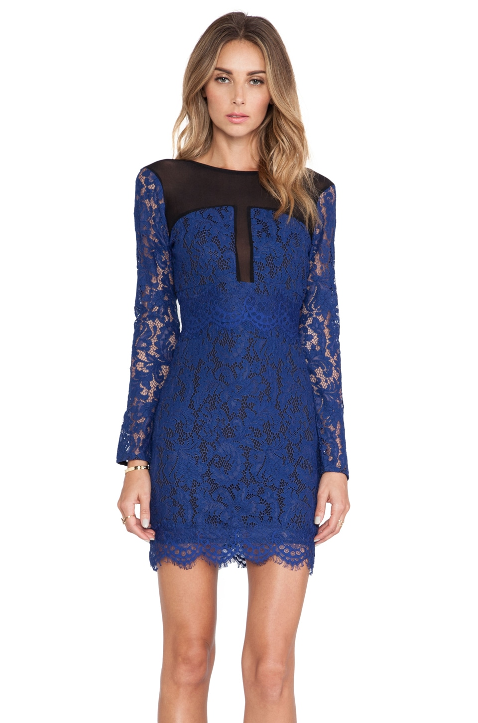 NBD Girls Night Out Dress in Navy