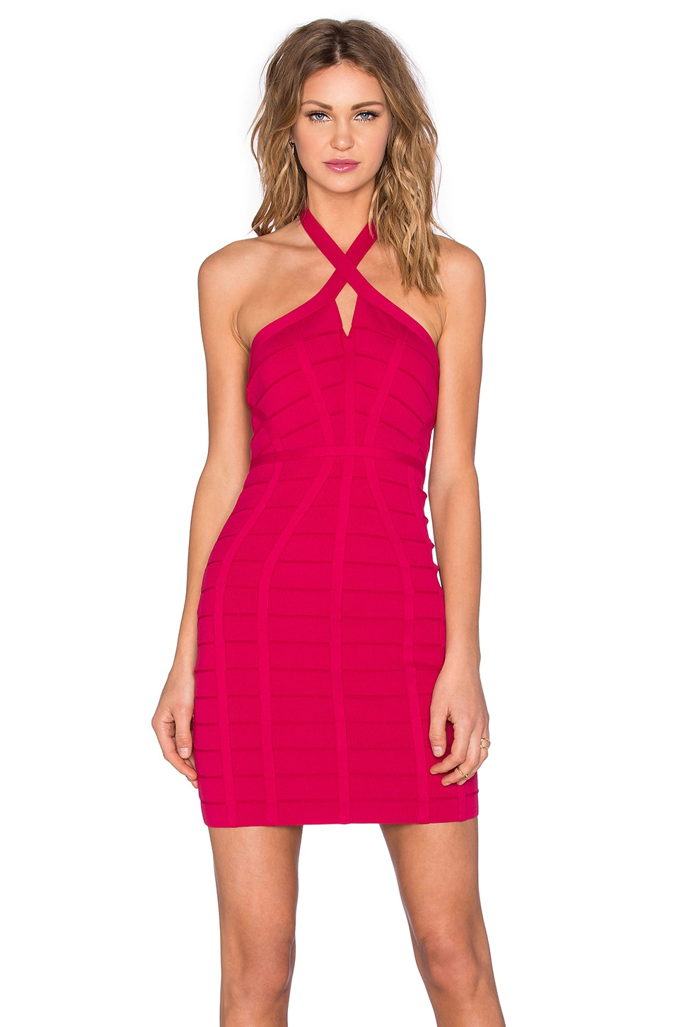 NBD x REVOLVE Twisted Bodycon Dress in Pink