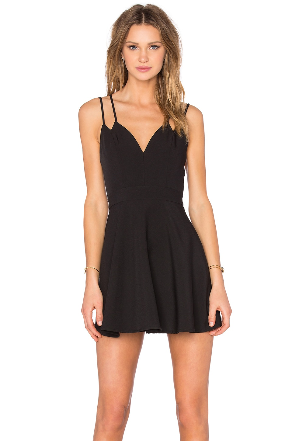x Naven Twins Party Girl Fit & Flare Dress