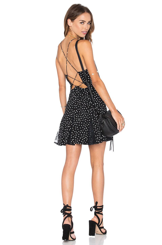 NBD Rolling Stone Dress in Polka Dot