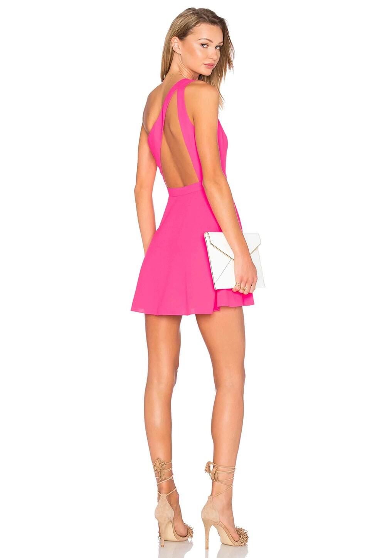 X Naven Twins Zip Me Up One Shoulder Dress