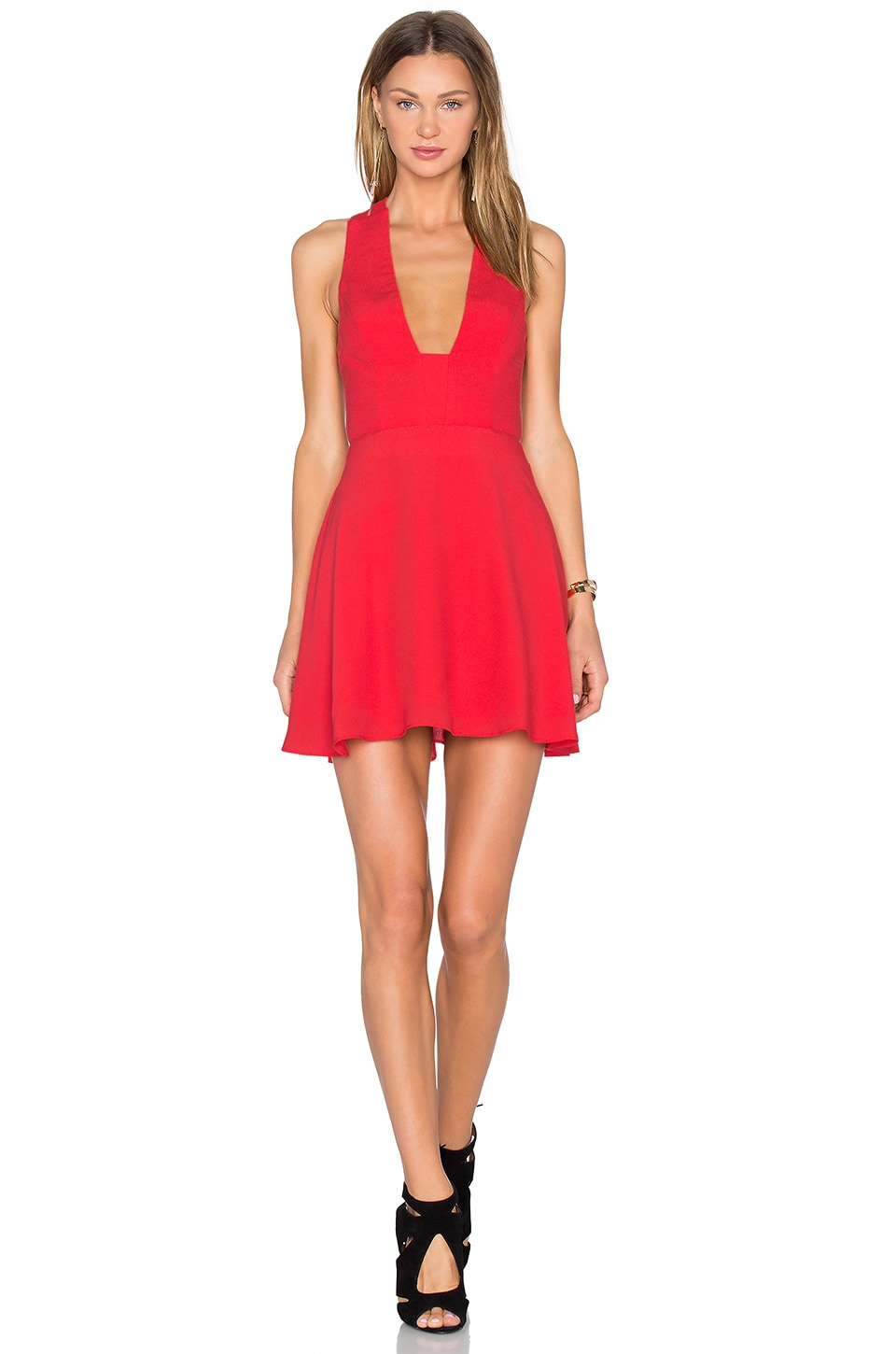 X Naven Twins Just You Fit & Flare Dress by NBD