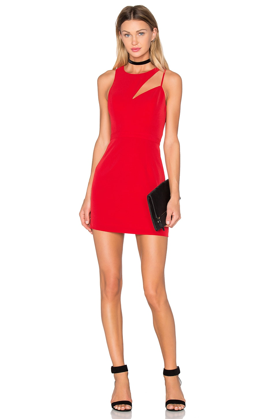 x Naven Twins Cut The Line Bodycon