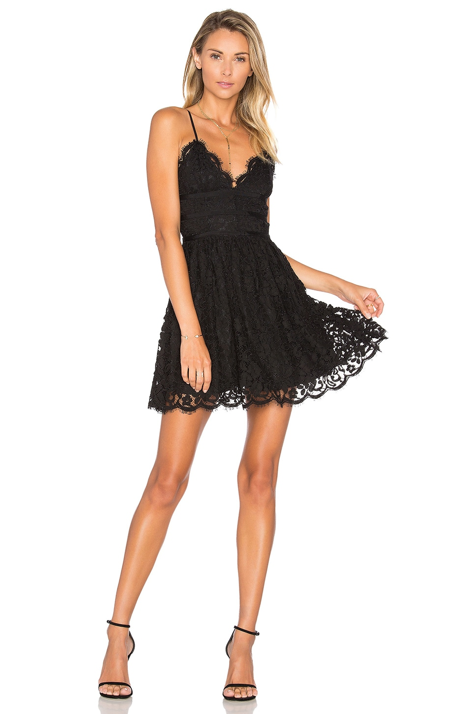 NBD Give It Up Dress in Black