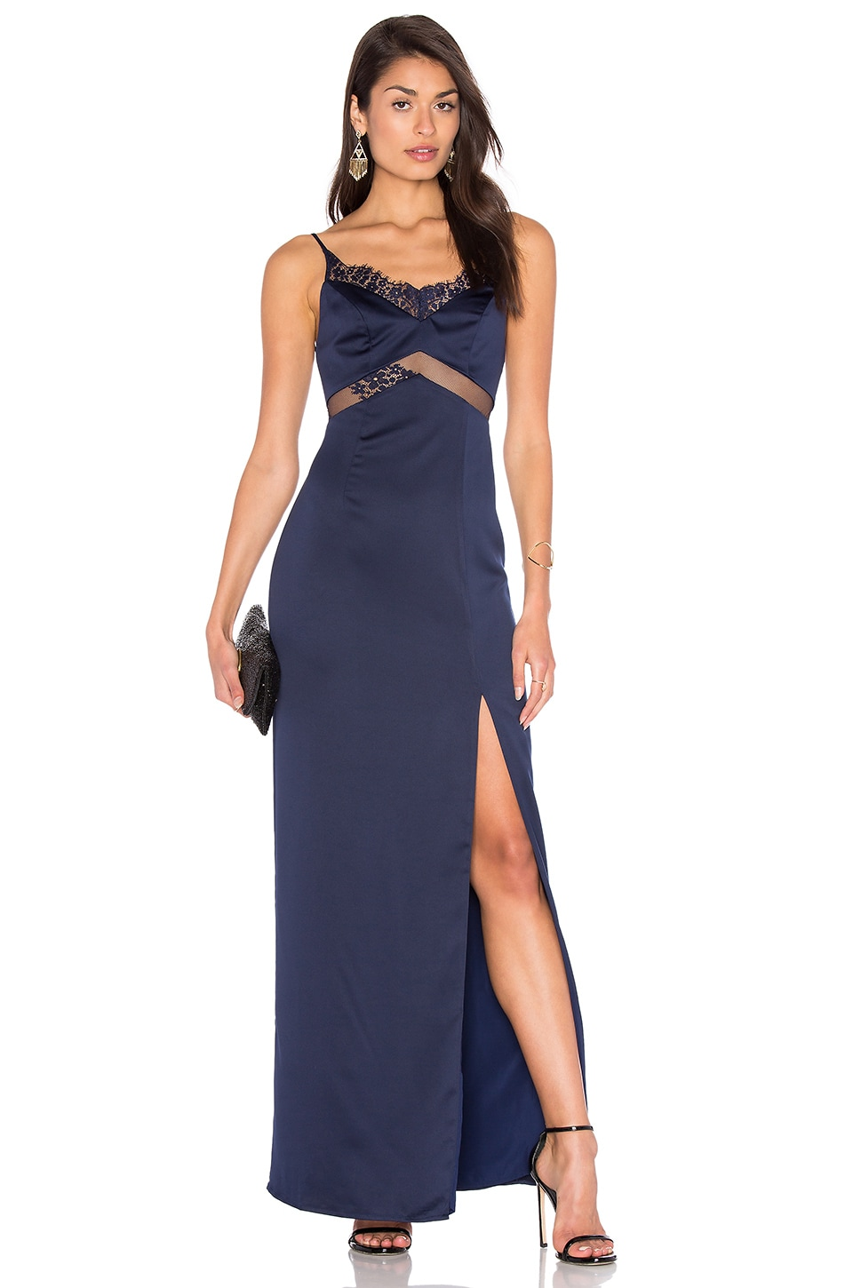 x REVOLVE Saint Gown by NBD