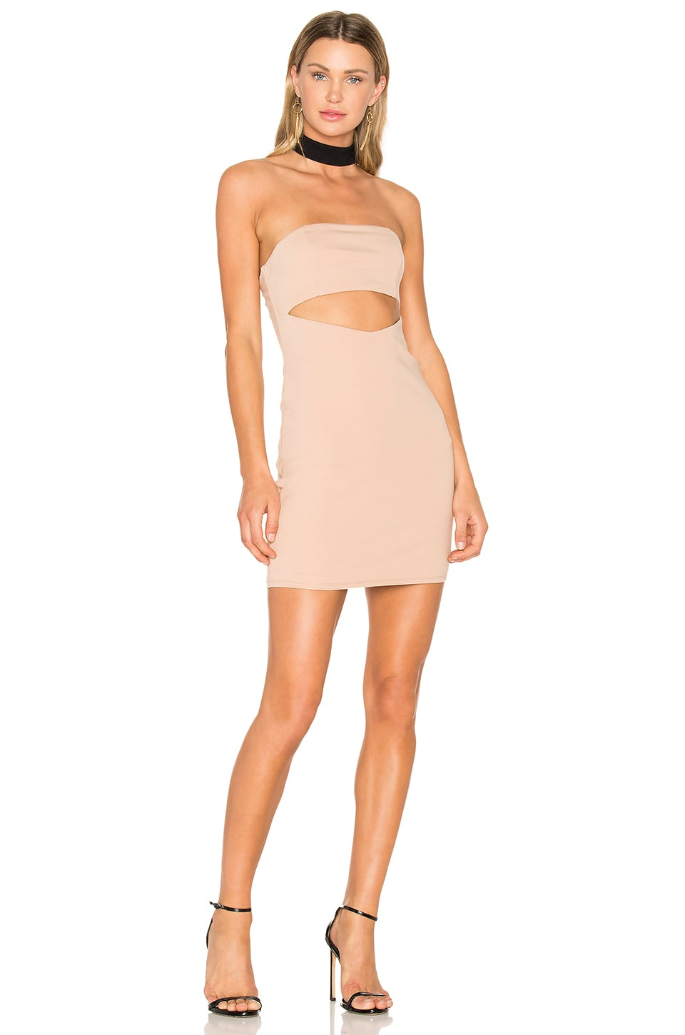 NBD x REVOLVE Attraction Dress in Nude