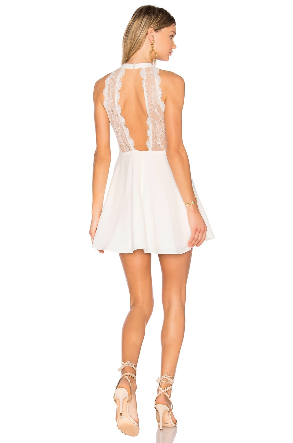 NBD Gimmie More Dress in Ivory