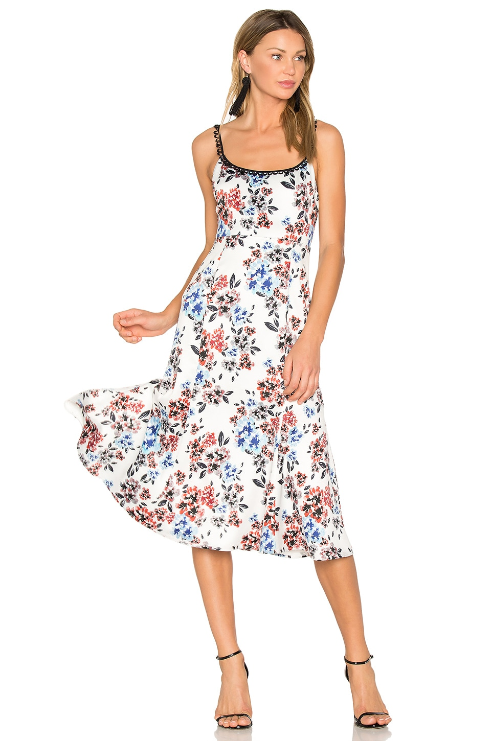NBD Secora Midi Dress in Spring Bloom Floral