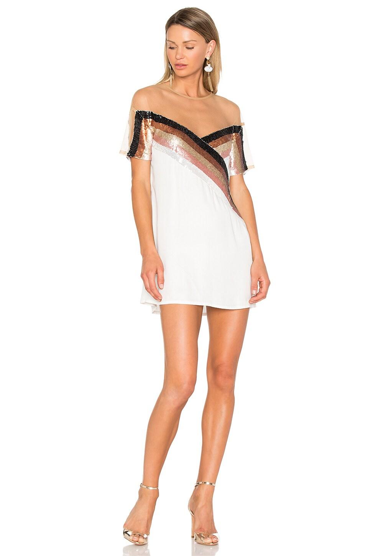 NBD Mireya Dress in Galatic Stripe