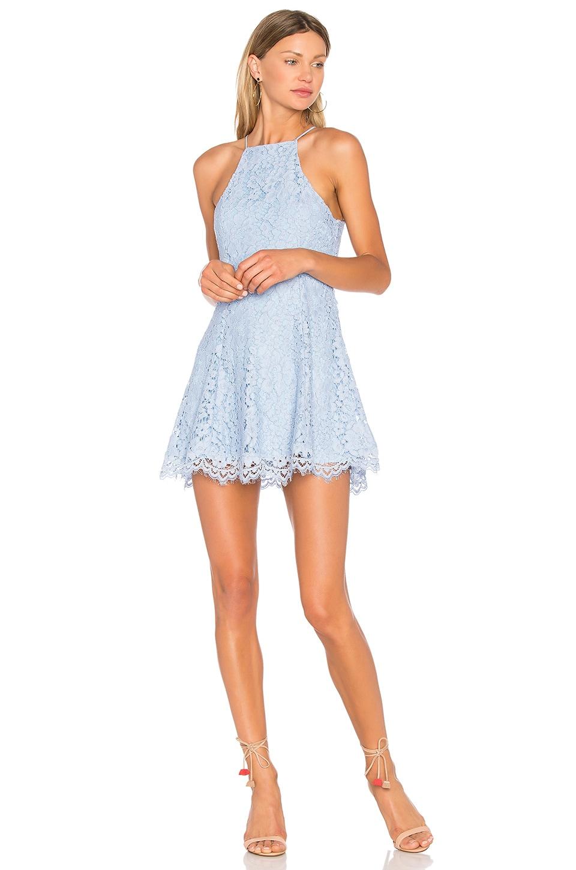 NBD Bria Dress in Periwinkle