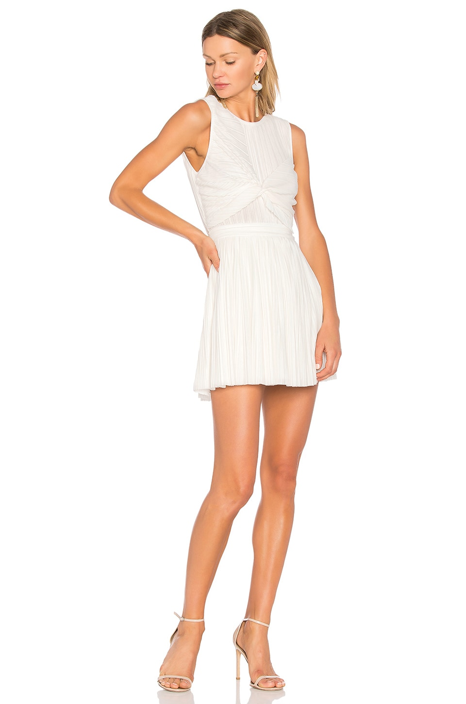NBD Bailey Dress in White