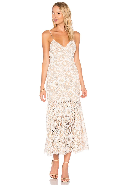 NBD Brielle Dress in Cream