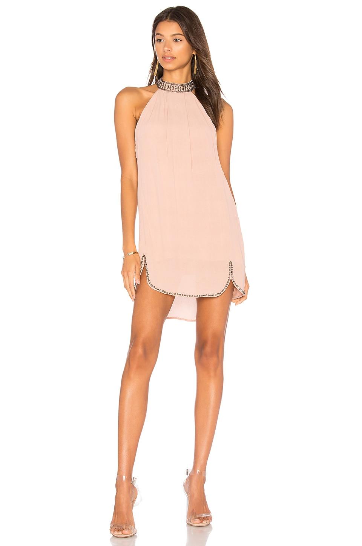 NBD Lourdes Dress in Misty Rose