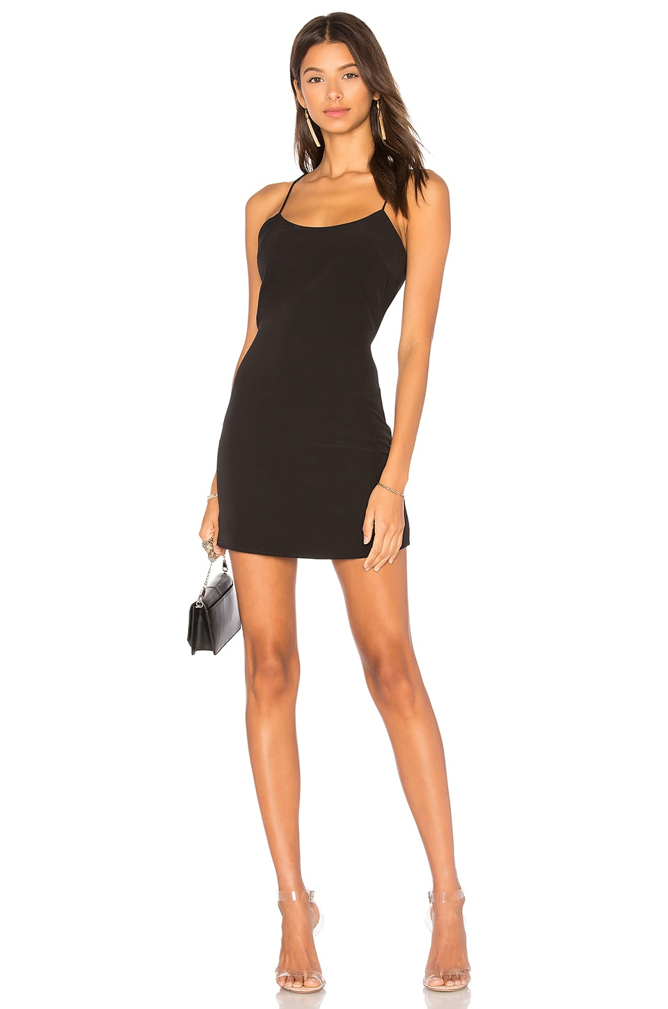 NBD Aria Mini Dress in Black