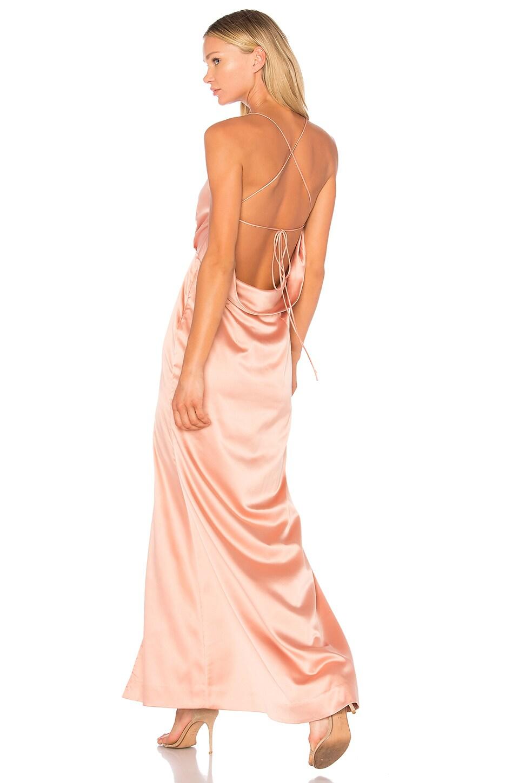 7aa68ad9161 NBD x REVOLVE Zane Gown in Blush