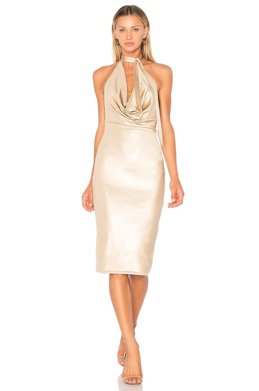 NBD x REVOLVE Henley Dress in Nude