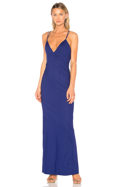 NBD x REVOLVE Brax Gown in Cobalt