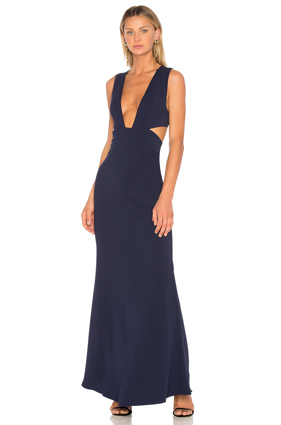 NBD Yani Gown in Navy