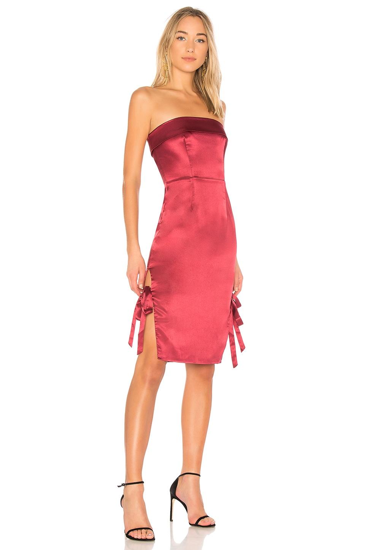 NBD x REVOLVE Abella Dress in Bordeaux