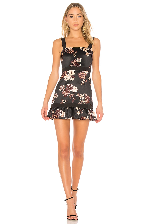 NBD Ashlynn Dress in Midnight Fleur