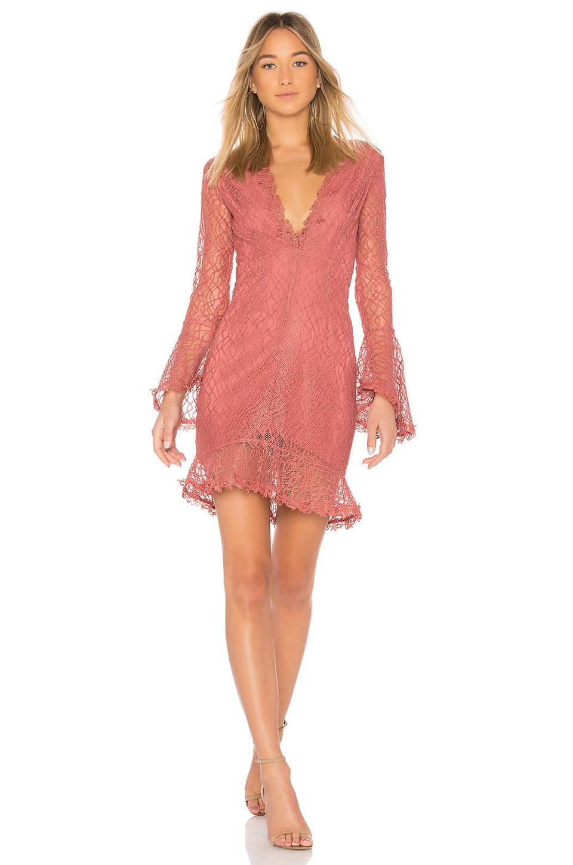 NBD Aemelia Dress in Mauve