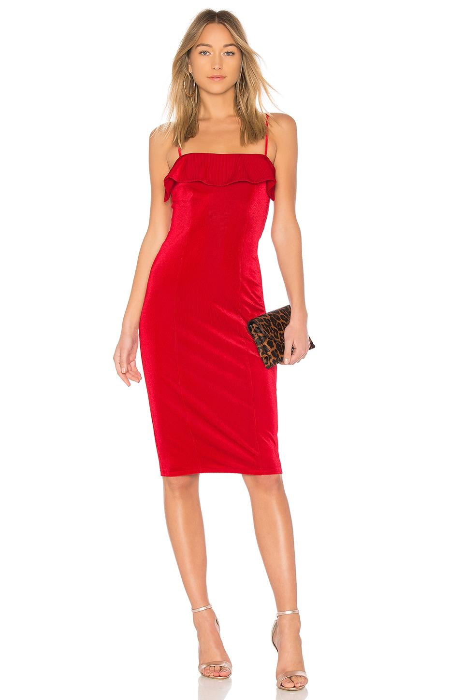 NBD Chantel Dress in Scarlet