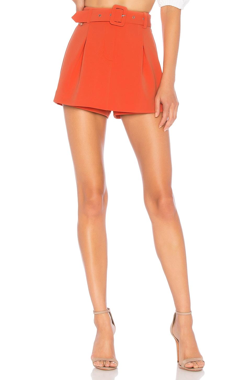 NBD Jump Start Skort in Poppy Orange