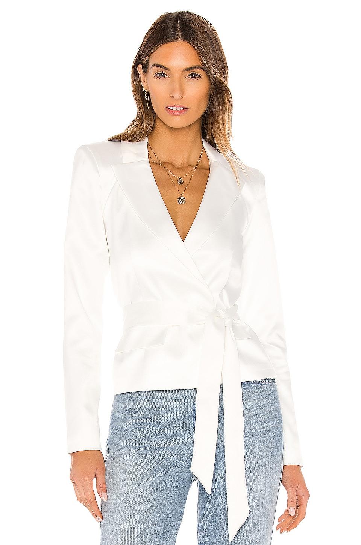 NBD Vanity Blazer in White