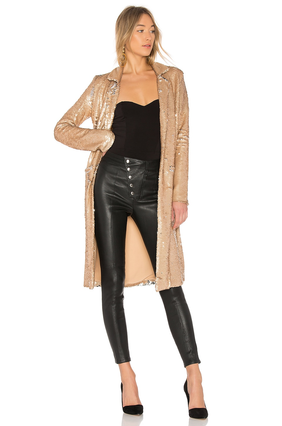 Angeli Sequin Duster by NBD