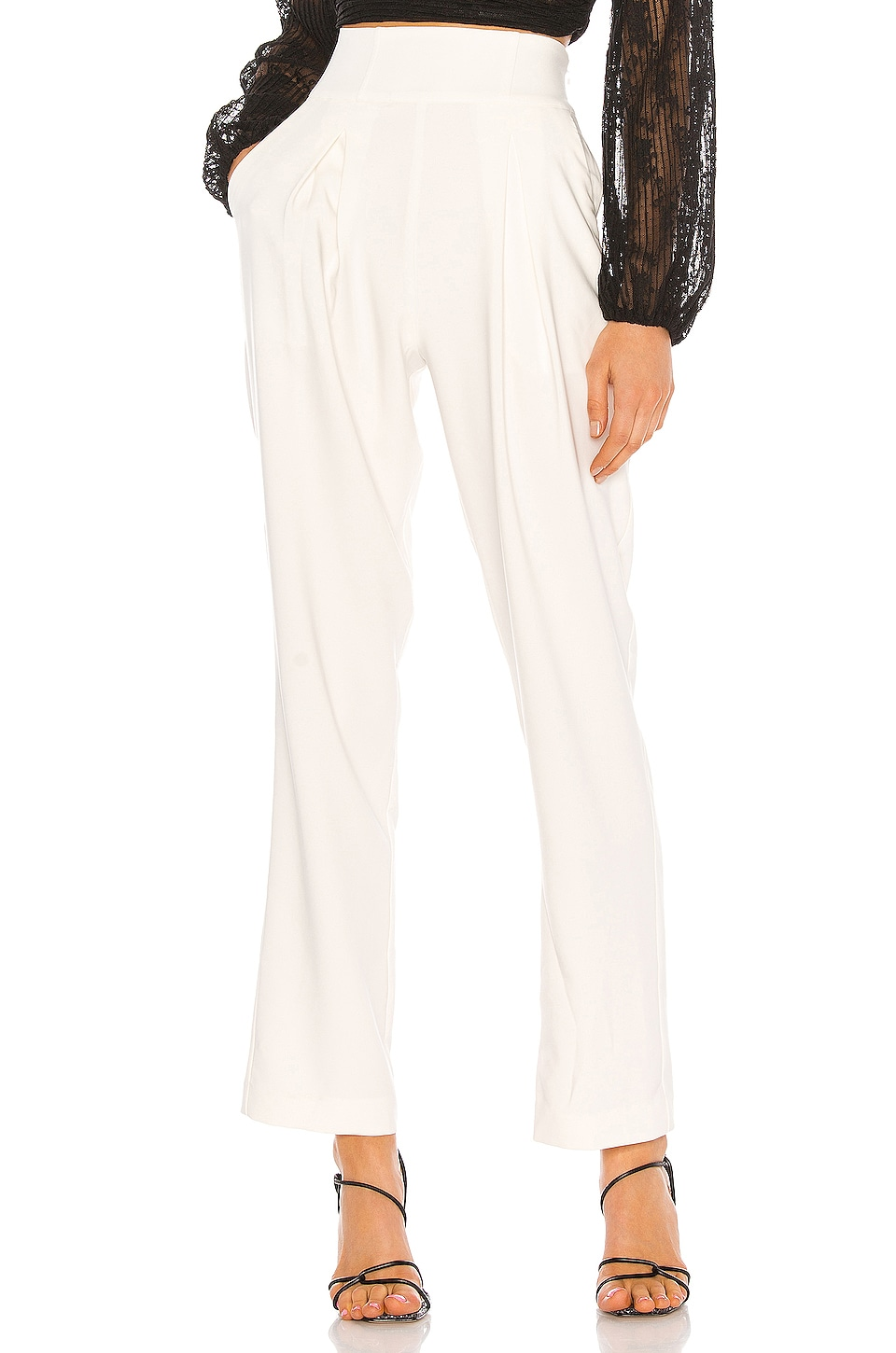 NBD Augustine Pant in White