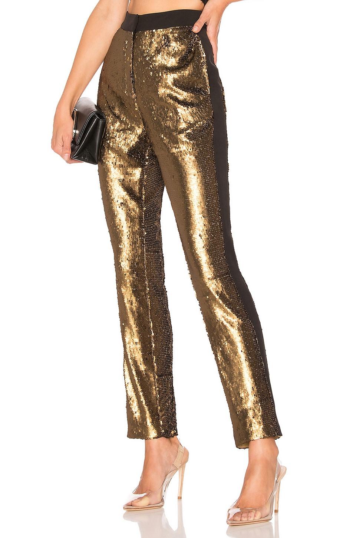 NBD Dinara Cigarette Pants in Bronze